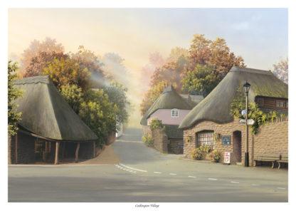 Cockington Village Autumn